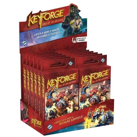 KeyForge - Call of the Archons - Archon Deck Display (12 Decks)